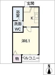 STAGE豊田本町[2階]の間取り