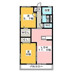 ELAN2005[2階]の間取り