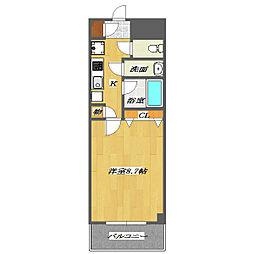 DomusARAI 3[3階]の間取り