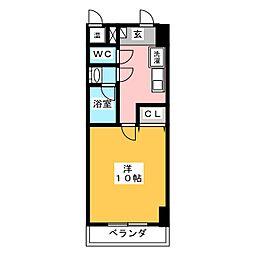 アーバンシティ幸田[2階]の間取り