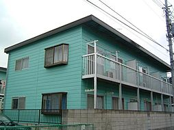 埼玉県さいたま市見沼区東大宮4丁目の賃貸アパートの外観
