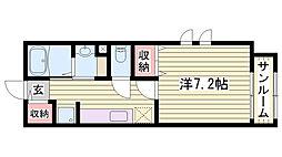 英賀保駅 5.0万円