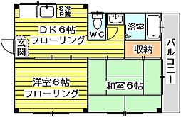 丸岡マンションII[2階]の間取り