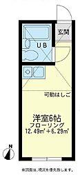 KANSEIサーフサイド[2階]の間取り