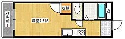 ドリームハウス[3階]の間取り