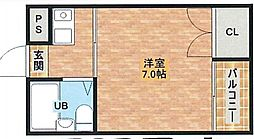 KTマンション[302号室]の間取り
