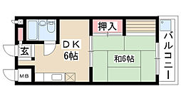愛知県名古屋市昭和区小桜町1丁目の賃貸マンションの間取り