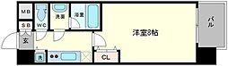 アドバンス大阪城ラディア[9階]の間取り