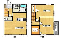 [一戸建] 神奈川県茅ヶ崎市本村3丁目 の賃貸【/】の間取り