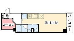 グルーヴ武庫川[2階]の間取り