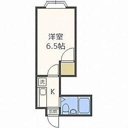 セゾンコートイースト[3階]の間取り