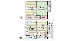 [一戸建] 兵庫県神戸市垂水区千鳥が丘2丁目 の賃貸【/】の間取り