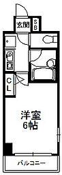 エスリード松屋町[8階]の間取り