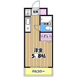 プライムアーバン高井戸[4階]の間取り