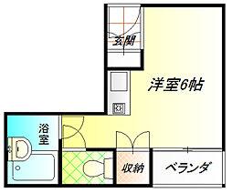 Uハイム[2階]の間取り