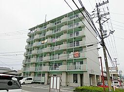 滋賀県甲賀市甲賀町大原市場の賃貸マンションの外観