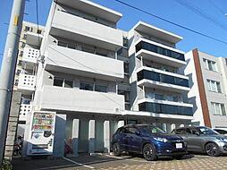 北海道札幌市豊平区豊平四条7丁目の賃貸マンションの外観