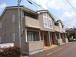 新潟県阿賀野市保田の賃貸アパートの外観