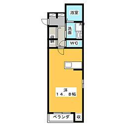セレーノ・M[2階]の間取り