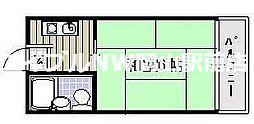 コーポミゾウエ[2階]の間取り