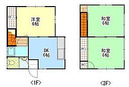 [一戸建] 岡山県岡山市東区可知5丁目 の賃貸【/】の間取り