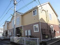 埼玉県行田市長野2丁目の賃貸アパートの外観