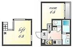Villa Clelia[1階]の間取り