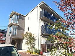 栃木県宇都宮市清住3丁目の賃貸アパートの外観