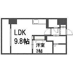 HF東札幌レジデンス[510号室]の間取り