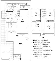 [一戸建] 埼玉県久喜市吉羽5丁目 の賃貸【/】の間取り
