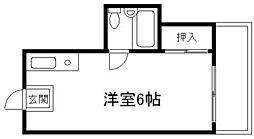 シティライフ新大阪II[1階]の間取り