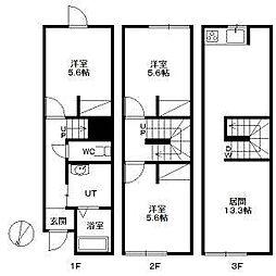 リヨ・N25[3階]の間取り