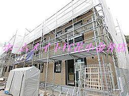 東京都西東京市向台町2丁目の賃貸アパートの外観