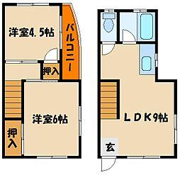 [タウンハウス] 兵庫県明石市和坂1丁目 の賃貸【/】の間取り