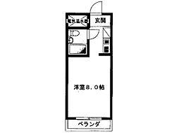 シャンブルド日野[2階]の間取り