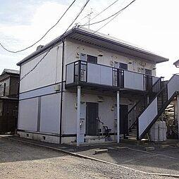 埼玉県蓮田市大字黒浜の賃貸アパートの外観
