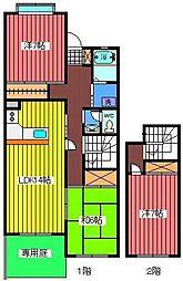 埼玉県さいたま市緑区大字中尾の賃貸マンションの間取り