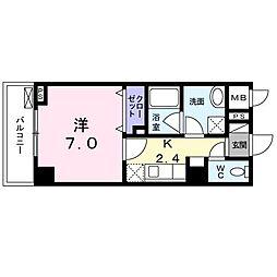 NAKAMURA BLD[203号室]の間取り