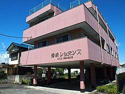 栃木県宇都宮市江曽島町の賃貸マンションの外観
