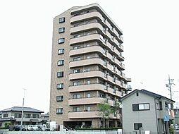 栃木県宇都宮市越戸2丁目の賃貸マンションの外観