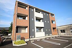 栃木県鹿沼市東町1の賃貸アパートの外観