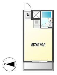 シティーライフ鶴舞[11階]の間取り