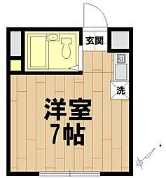 セントラルコート[2階]の間取り
