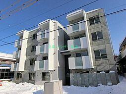 北海道札幌市東区北十七条東14丁目の賃貸マンションの外観