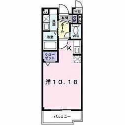 プログレ Nα[2階]の間取り