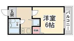 RIO花屋敷I[303号室]の間取り