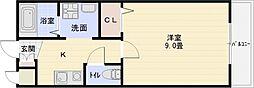 クレパレス2[2階]の間取り