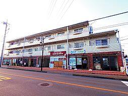 東京都東大和市向原6丁目の賃貸マンションの外観