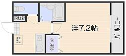 メゾン長束西[1階]の間取り