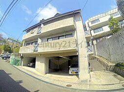 兵庫県宝塚市花屋敷つつじガ丘の賃貸マンションの外観